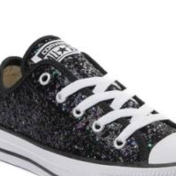 wholesale dealer 5dac4 bec73 Converse Shoes - Womens Converse Chuck Taylor All Star Lo Glitter